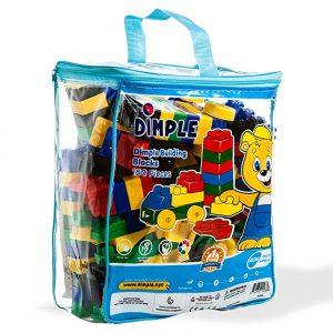 Dimple 150 Piece Soft Plastic Building Block Set