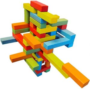Magz Wooden Bricks 45 Magnetic Building Blocks