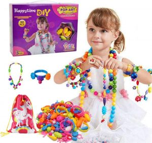 Happytime Snap Pop Beads Girls Toy