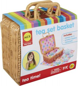 Roll over image to zoom in ALEX Toys Pretend & Play, Tea Set Basket