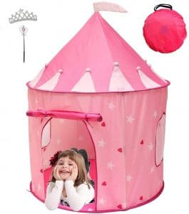 Kiddey Princess Castle Play Tent