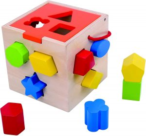 Fat Brain Toys Take-Along Shape Sorter Baby Toys & Gifts for Babies