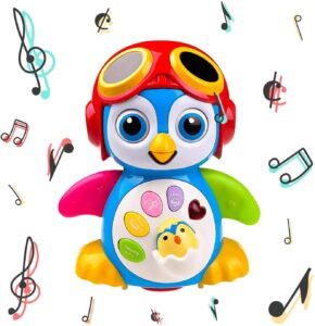 Musical Dancing Penguin Toy