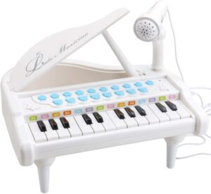 Amy&Benton Toy Piano for Baby & Toddler Piano Keyboard Toy for Girls Kids