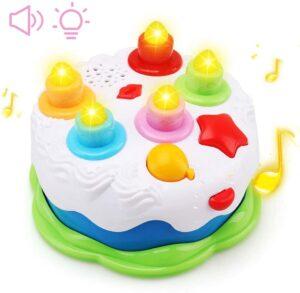 Amy&Benton Kids Birthday Cake Toy for Baby