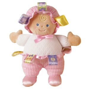 Mary Meyer Taggies Developmental Baby Doll, Pink