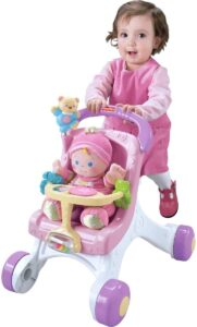 Fisher-Price Brilliant Basics Stroll-Along Walker, Standard Packaging