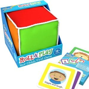 ThinkFun Roll and Play Game for Toddlers