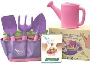 Kids Pink Gardening Tools