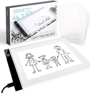 LED Tracing Colouring board