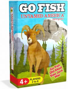 Arizona GameCo Go Fish Untamed America