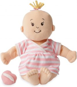 Manhattan Toy Baby Stella Soft First Baby Doll for Ages 1 Year and Up