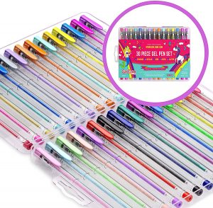 Color Gel Pens Set for Girls