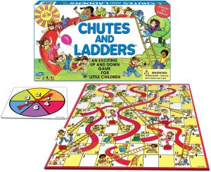 Chutes and Ladders Board Game for kids