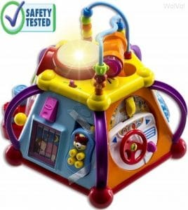 WolVol Educational Kids Toddler Baby Toy Musical