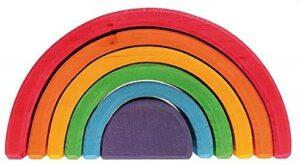Grimm's 6-Piece Rainbow Stacker