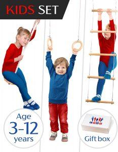 Kids gym play set