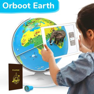 Augmented Reality Interactive Globe For Kids, Stem Toy For Boys & Girls