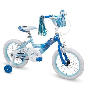 "Huffy 16"" Disney Frozen Elsa Girls Bike, Deep Blue"