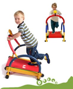 HWOEK Boy Girl Birthday Gifts, Manual Treadmill for Child Boy Girl Easy Assembly for 5-10 Years Old Kids