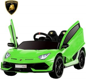Uenjoy 12V Kids Electric Ride On Car Lamborghini Aventador