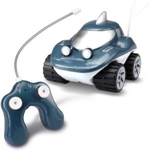 Kid Galaxy Amphibious RC Car Morphibians Shark. All Terrain Remote Control Toy