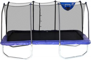 Skywalker Rectangle Trampolines in 2021 with Enclosure Net