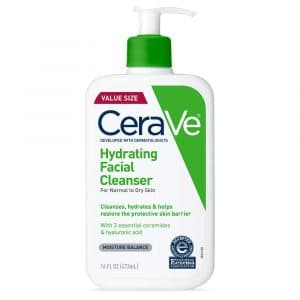 CeraVe Hydrating Facial Cleanser Pregnancy Skincare Products