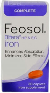 Feosol Complete with Bifera Caplets (Best Tablet)