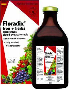 Floradix + Herbs (Best Liquid)
