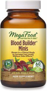 MegaFood Blood Builder Minis (Best Vegan)