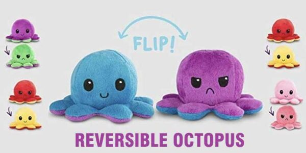 The Original Reversible Octopus Plushie – Get it Now